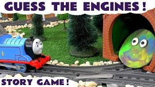Thomas And Friends Game Guess The Engines Thomas The Tank Railway Toys For Kids
