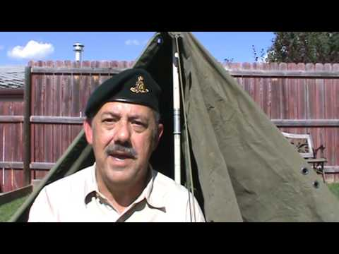 Canadian Army Pup Tent