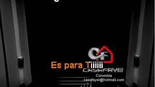Alvaro Torres - Cuanta Falta Me Haces (Demo Karaoke)