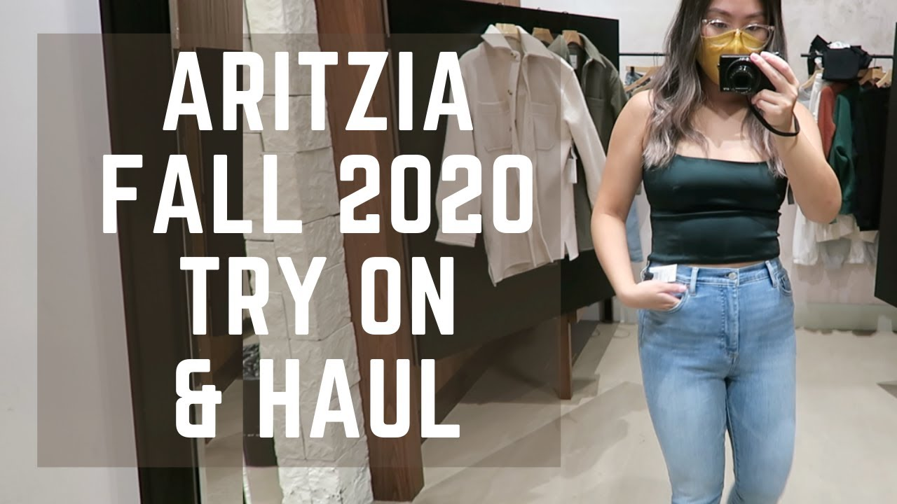 ARITZIA FALL SHOP WITH ME & HUGE HAUL!