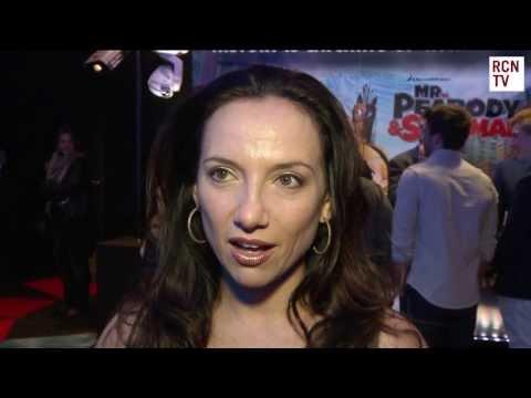 Leila Birch Interview - Mr Peabody & Sherman UK Premiere