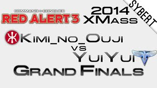 Kimi_no_Ouji[E] vs YuiYui[A] - Grand Final XMass 2014 - Red Alert 3