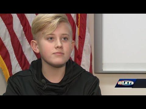 'I feel safe' - Clarksville police mentor middle school students