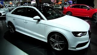 2015 Audi A3 S-Line Sedan - Exterior and Interior Walkaround - 2013 LA Auto Show