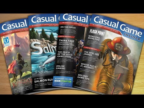 DGA Vlogs: Casual Game Insider - Tabletop Gaming Magazine