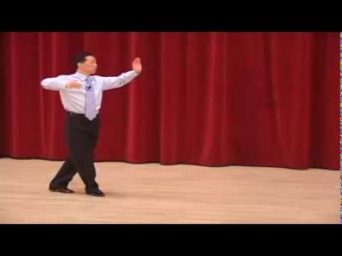 Silver Quickstep - Natural Turn, Back Lock, Running Finish Ballroom Dance Lesson