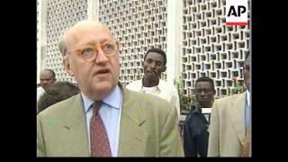 CONGO: KINSHASA: ARRIVAL OF UN HUMAN RIGHTS INVESTIGATORS