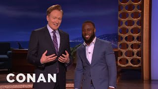 James White On Making The Greatest Comeback In Super Bowl History  - CONAN on TBS Video