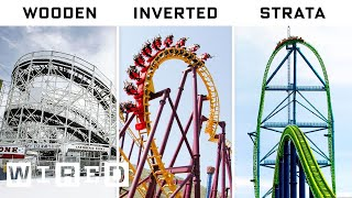 Engineer Explains Every Roller Coaster | A World of Difference | WIRED