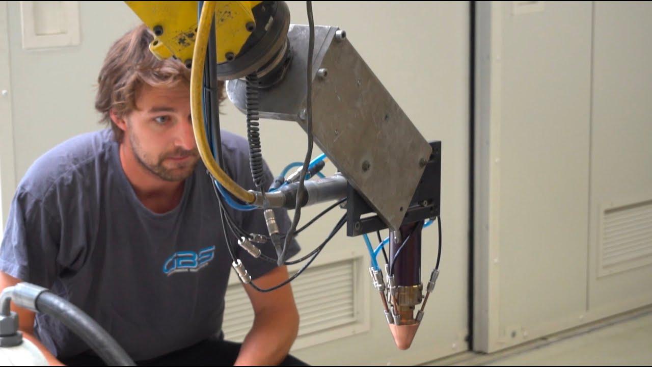 Mark Bons rondt zijn scriptie af met innovatie in Lasercladding