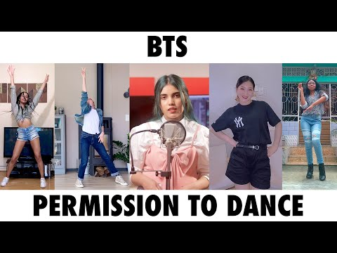 BTS (방탄소년단) 'Permission to Dance'   Cover By AiSh   Wendy, Lith, Laureen, Kritanjali