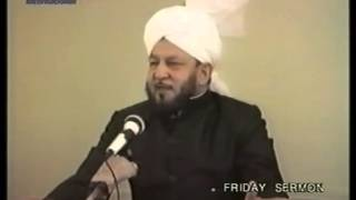 Friday Sermon 21 October 1988