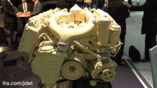 Eurosatory 2016: IHS Jane's talks to Scania Engines about their military specific engines(Shaun Connors, Co-Editor, IHS Jane's Logistics, Support and Unmanned talks to Anders Liss, Head of Sales, Scania Engines at Eurosatory 2016 about their ..., 2016-06-21T09:45:55.000Z)
