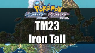 Pokemon Diamond & Pearl - Where to get TM23 Iron Tail