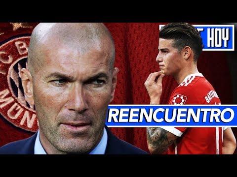 """'Zidane al Bayern y reencuentro con James"""" I Otro lesionado en el Real Madrid"""