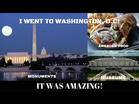 WENT TO WASHINGTON, DC ON A SATURDAY! I HAD A BLAST!