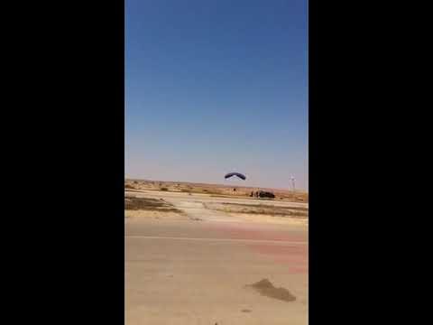 תקרית קירבה גדולה שארעה בישראל בין מטוס נוחת לצנחן