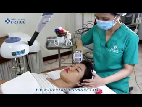 Quy trình  điện di colagen/vitamin C của Dr. Huệ