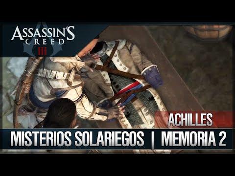 Assassin's Creed 3 - Walkthrough Español - Hacienda - Achilles - Misterios solariegos [2] [100%]