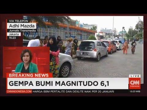 Breaking News! Gempa 6,1 SR Guncang Banten, Jakarta Dan Sekitarnya, Masyarakat Jangan Panik