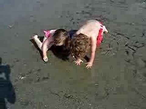 Bella and Matthew at Willard Beach