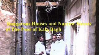 Pakistan  Kala Bagh  Poverty & Danderous Houses.wmv Travel Video