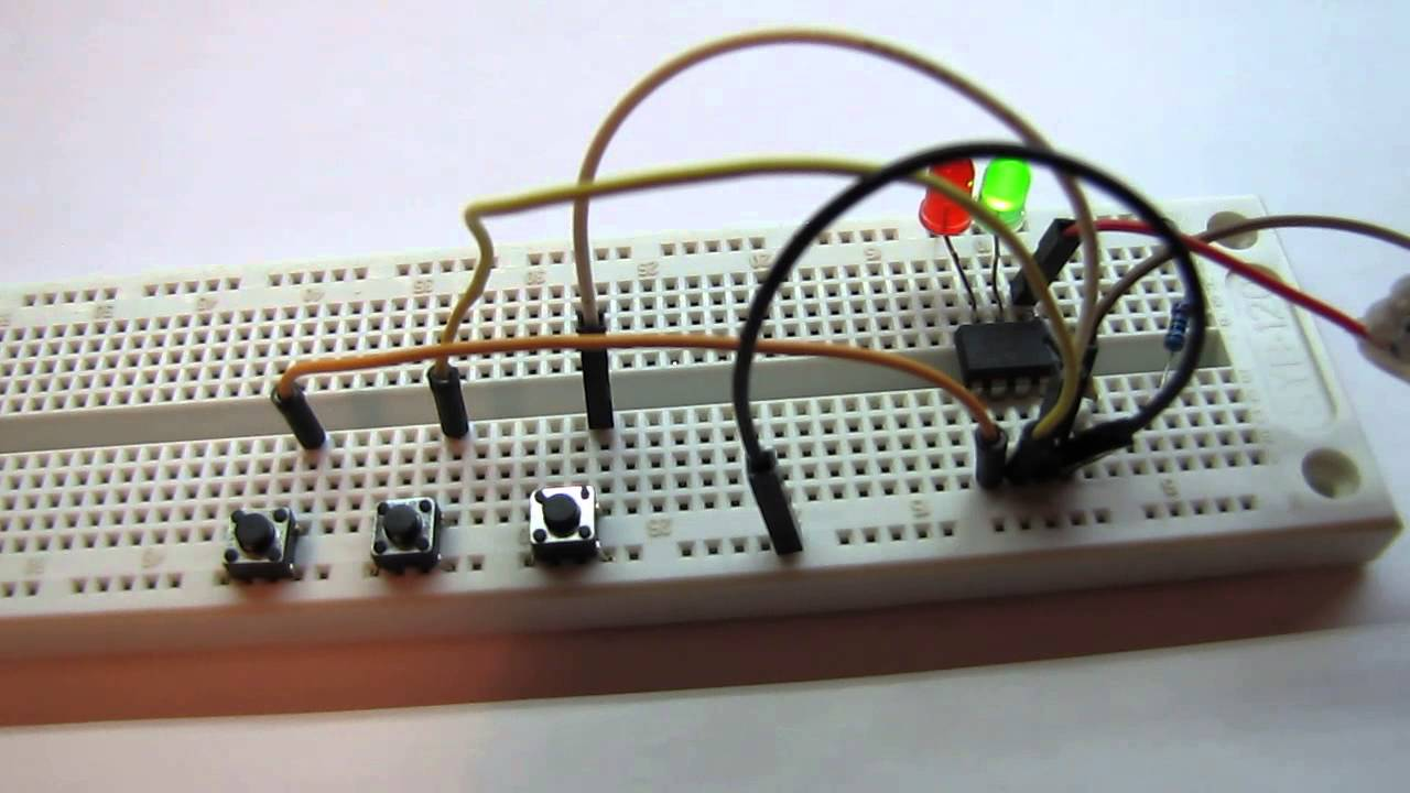 PIC12F675 Learning Project: Electronic Code Lock