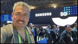 Visitando el pabellón de Samsung CES 2019 vamos a ver novedades