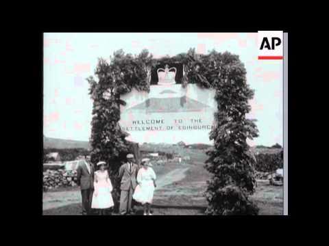DUKE OF EDINBURGH'S TOUR OF SOUTH ATLANTIC ISLANDS AND MICHAEL PARKER RETURNED