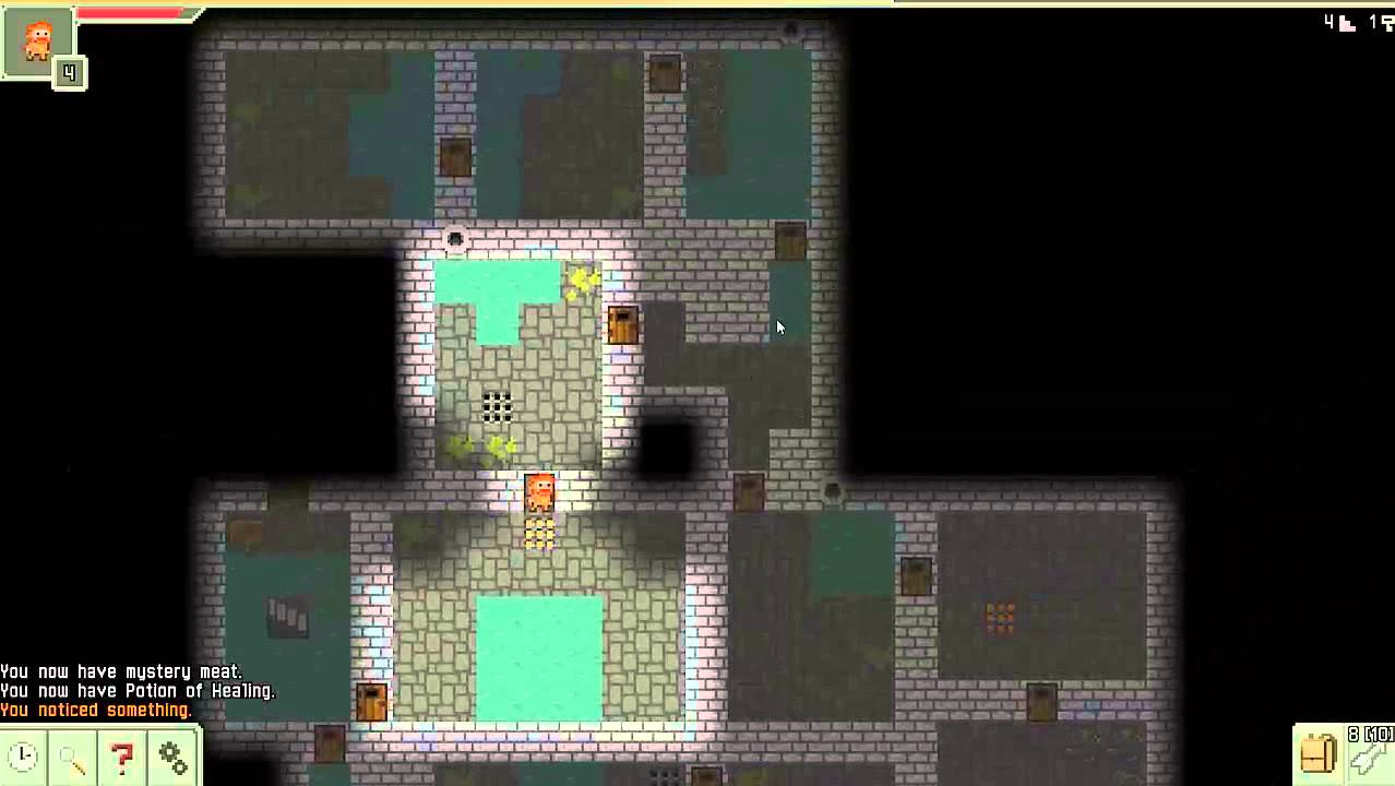 Let´s Play Pixel Dungeon [Ver. 0.3.5][Android App] Warrior (1/4) - YouTube