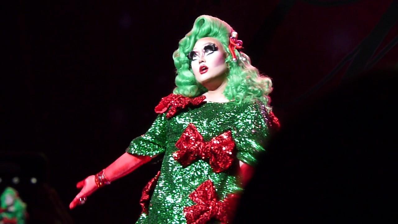 Drag Queen Christmas.A Drag Queen Christmas Kim Chi Bo Peep Bo Peep