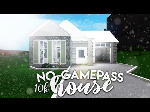 Bloxburg Speedbuild Aesthetic Small Home No Gamepasses