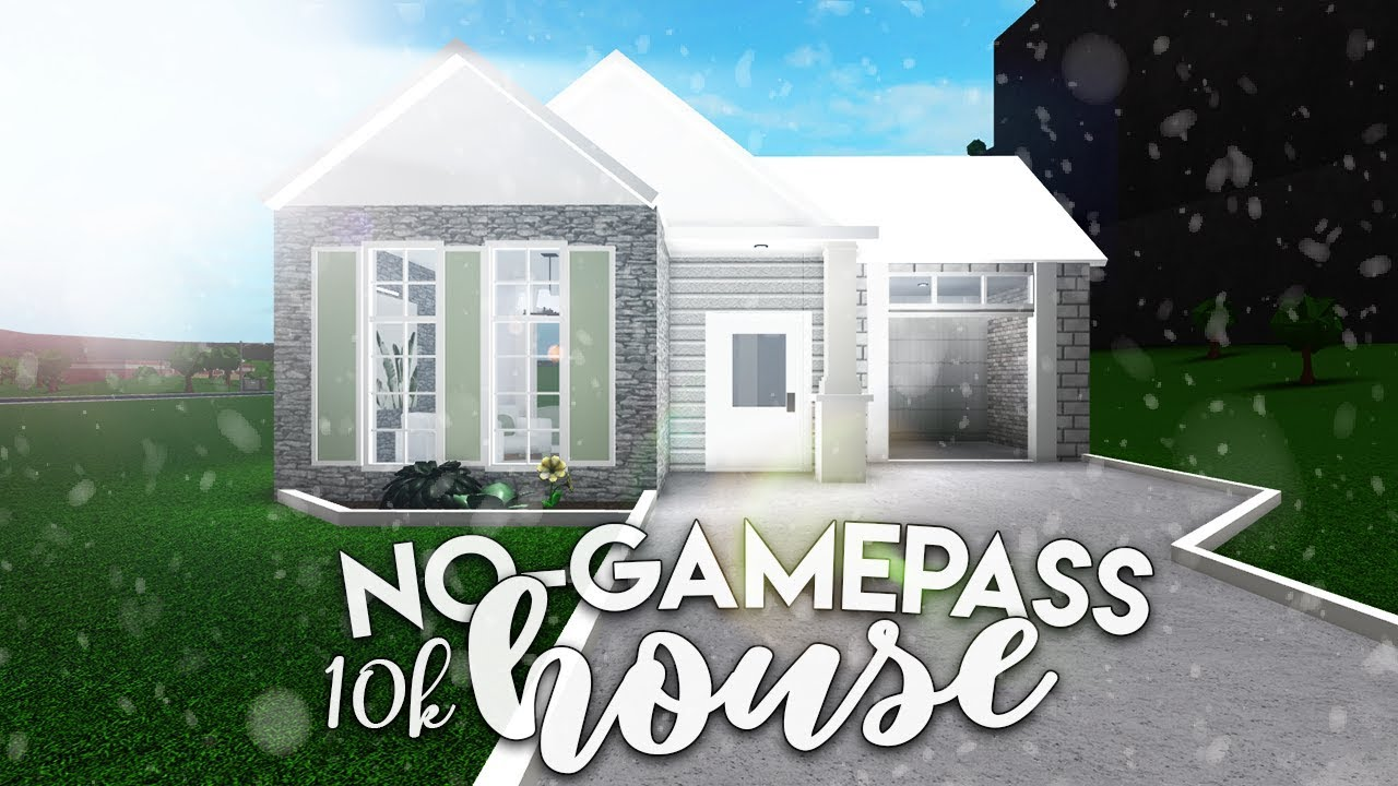 Roblox Bloxburg 10k No Gamepass House House Build