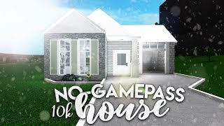 Roblox | Bloxburg: 10k No Gamepass House | House Build