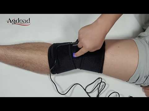 2019 aliexpress BEST-Selling! AGDOAD Arthritis Knee Support Brace Infrared Heating Therapy