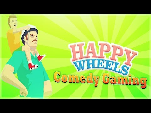 Happy Wheels - D*MN YOU PINEAPPLES - Helicopter Rescue - Comedy Gaming