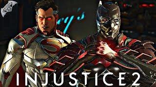Injustice 2 Online - DEMON BAT VS SPAMMER!