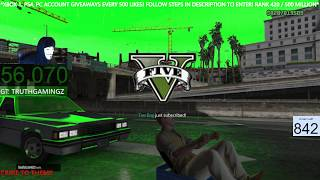 FREE GTA 5 CASH LOBBY DLC! RP, CASH + OPEN SESSIONS & GIVEAWAYS! XBOX ONE, XBOX 360, PS4, PC, PS3