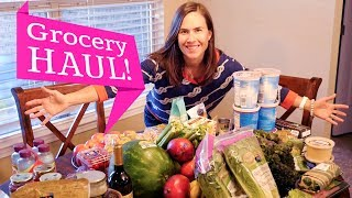 Healthy & Organic Grocery Haul!