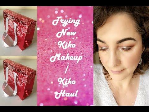 Trying New Kiko Makeup / Kiko Haul