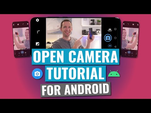 Open Camera App TUTORIAL (2019 Android Camera Apps)