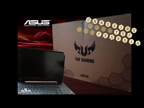 UNBOXING BRAND NEW ASUS's TUF F15 | 10th Gen Intel® Core™ i5 CPU and GeForce® GTX 1650 GPU