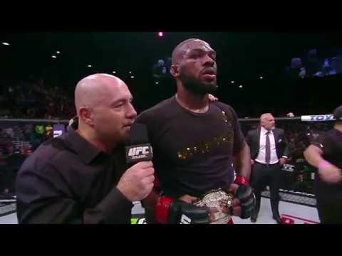 UFC 182: Jon Jones Octagon Interview
