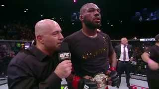 UFC 182: Jon Jones Octagon Interview