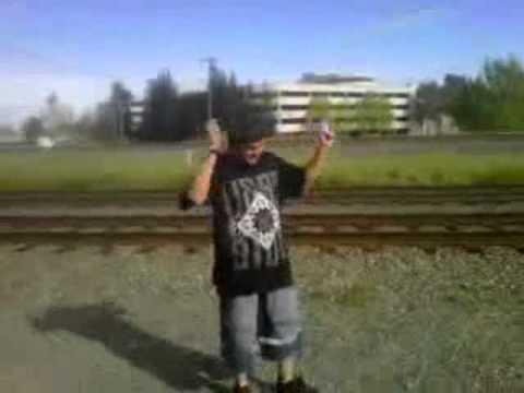 KO Fam A.O.B All On a Blach berry music video.2011