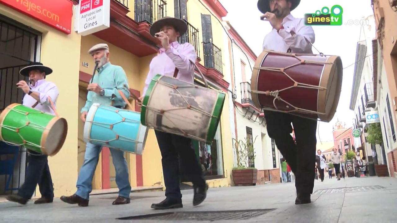 Los tamborileros de la Escuela Municipal de Música recorrerán las calles de Gines los días 22 y 23