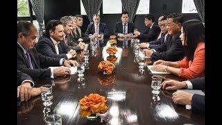 Video: El gobernador Sáenz recibió a representantes de la República Popular China