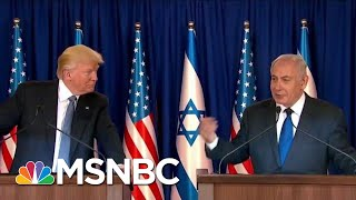 President Donald Trump's BFF Netanyahu Gifts Him A Whole Town...That Doesn't Exist | All In | MSNBC