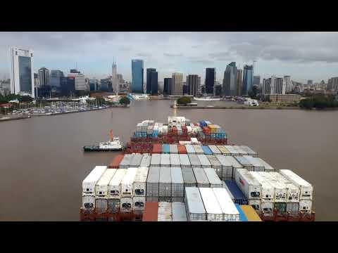 "Container Ship ""MAERSK LOTA"" - Berthing ""BUENOS AIRES"" - LUIGI BOCCHERINI - Musica Notturna delle.."