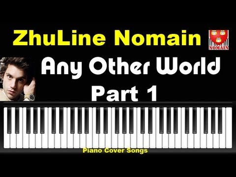 How To Play Any Other World - Part1 Piano Tutorial Cover Songs Mika - Nomain France ZhuLine